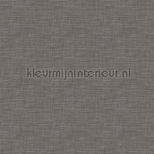 Weave charcoal carta da parati Dutch Wallcoverings Fabric Touch FT221247
