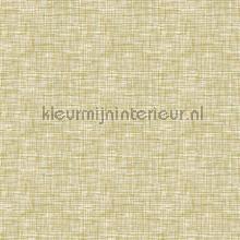 Weave green carta da parati Dutch Wallcoverings Fabric Touch FT221249