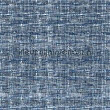 Weave blue carta da parati Dutch Wallcoverings Fabric Touch FT221250