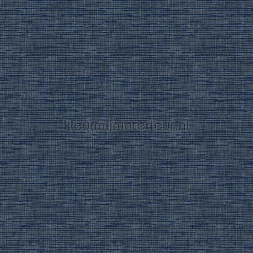 Weave dark blue carta da parati FT221251 tinta unita Dutch Wallcoverings