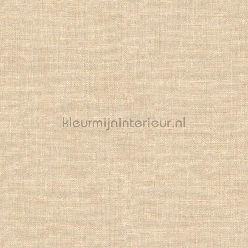 Linen beige wallcovering FT221263 plain colors Dutch Wallcoverings