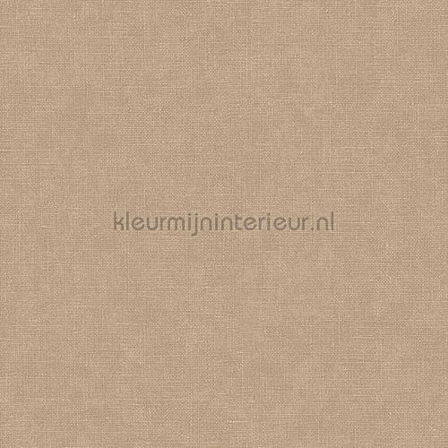 Linen brown carta da parati FT221264 tinta unita Dutch Wallcoverings