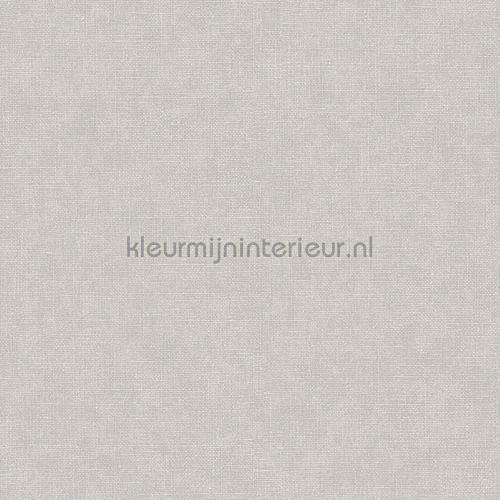 Linen silver wallcovering FT221265 plain colors Dutch Wallcoverings