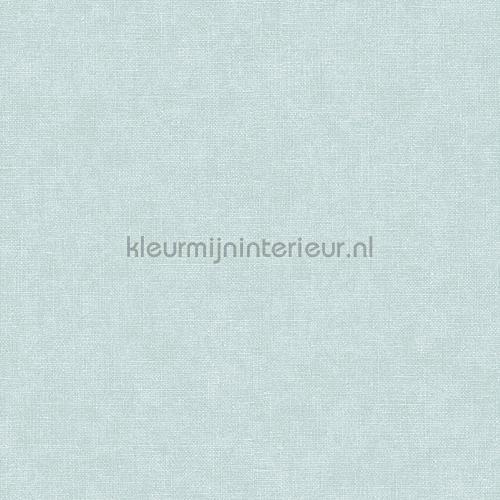 Linen light blue wallcovering FT221269 plain colors Dutch Wallcoverings