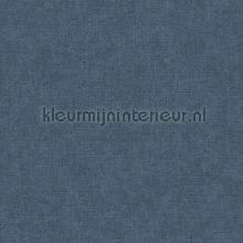 Linen dark blue carta da parati Dutch Wallcoverings Fabric Touch FT221270