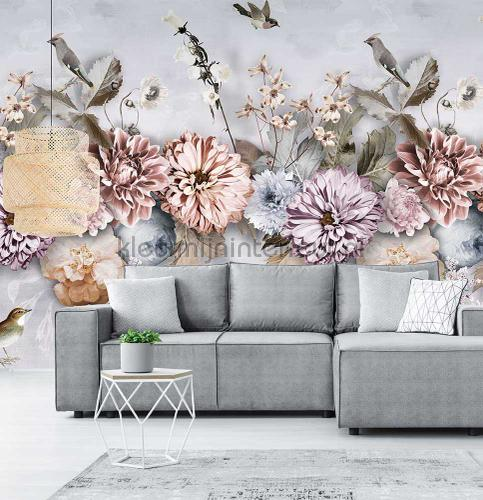 Cool Florals wallcovering ink7550 romantic modern Behang Expresse