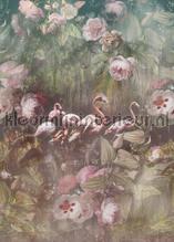 Flamingo Found dark fotobehang Behang Expresse York Wallcoverings
