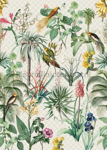 Tropical morning behang ink7558 bladmotief Behang Expresse