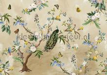 Secret Garden Sand fotobehang Behang Expresse York Wallcoverings