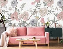 Tea Garden Sunrise fotobehang Behang Expresse York Wallcoverings