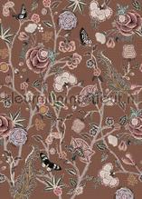 Pomegranate Butterscotch fotobehang Behang Expresse York Wallcoverings