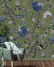 Pomegranate Moss fotobehang Behang Expresse York Wallcoverings