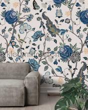 Pomegranate Blue fotobehang Behang Expresse York Wallcoverings