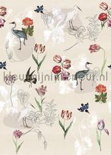 Dutch Meadows Sand tapeten Behang Expresse Floral Utopia ink7586