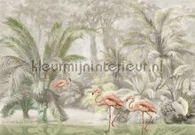 Pondicherry Pastel tapeten Behang Expresse Floral Utopia ink7588