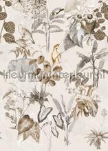 Luang Prabang Neutral tapeten Behang Expresse Floral Utopia ink7590