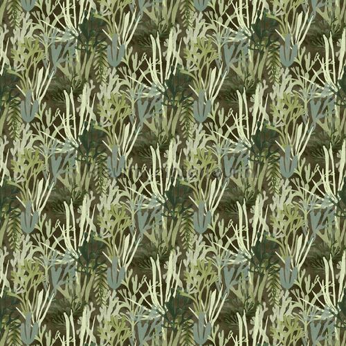 Algues tapet TP 303 03 Flower Power Elitis
