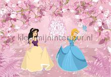 Princesses in their pink garden fotomurali Kleurmijninterieur sport