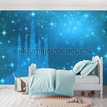 Magic blue castle fototapeten Kleurmijninterieur weltraum