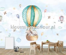 Baby animal balloon fototapeten Kleurmijninterieur alle bilder