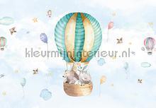 Baby animal balloon papier murales Kleurmijninterieur tout images