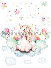 Baby unicorn papier murales Kleurmijninterieur tout images