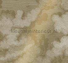 Engraved Clouds gold metallic fototapeten Kek Amsterdam alle bilder