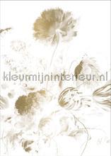 Golden Age Flowers behang Kek Amsterdam Gold Metallics MW-049