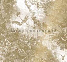 Tropical Landscapes papier murales Kek Amsterdam Gold Metallics MW-065