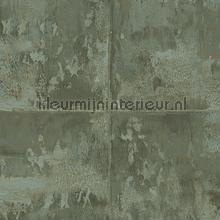 Platinum moss green behang Arte behang