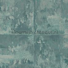 Platinum aquamarine behang Arte behang