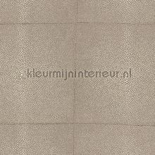 Shagreen warm grey behang Arte behang