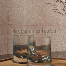 Shagreen brown taupe behang Arte behang
