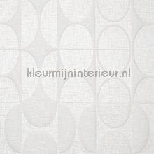 Curve crisp white behang Arte Zoffany