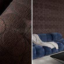 Curve dark taupe behang Arte Zoffany