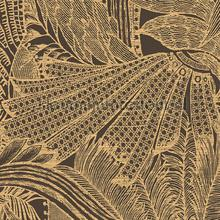 Symbiosis goldstorm behang Arte behang