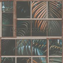Blik op de botanische tuin papier peint Kleurmijninterieur stress