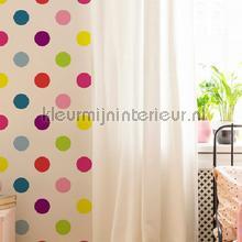 Dotty Multi Bright Wallpapier papier peint tapet Noordwand Wallpaper creations