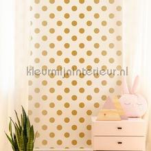 Gold Dotty Wallpapier papier peint papel pintado Noordwand rayas