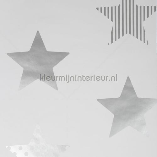 Superstar Silver Wallpapier papier peint behang 100111 sterren Noordwand