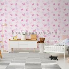 Butterfly Pink tapet Noordwand Wallpaper creations
