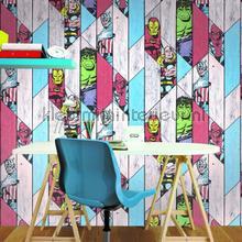 Marvel Wood Panel papel de parede Noordwand urbana