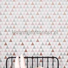 Tarek Rose Gold tapet Noordwand Wallpaper creations