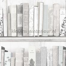 Botany Library White Blue tapeten Noordwand Wallpaper creations