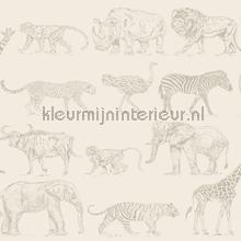 Safari Cream tapet Noordwand Wallpaper creations