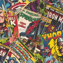Marvel Cover Story papel de parede Noordwand urbana
