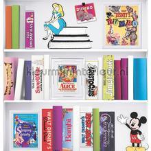 Disney Bookshelf papel de parede Noordwand Wallpaper creations
