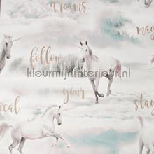 Unicorn Dreamland tapet Noordwand Wallpaper creations