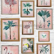 Tropical Frame tapet Noordwand Wallpaper creations