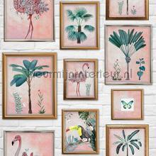 Tropical Frame papel de parede Noordwand Wallpaper creations